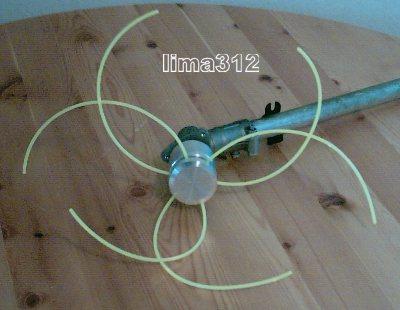 alu fadenkopf messer aufnahme 20 mm m hkopf f r motorsense nur eur. Black Bedroom Furniture Sets. Home Design Ideas